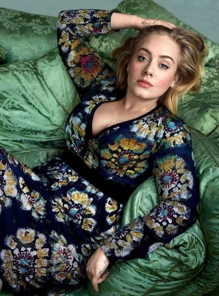 Adele Vogue March 2016 © Annie Leibovitz