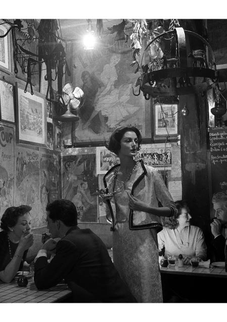Carmen Chanel | Roger la Grenouille by Gleb Derujinsky, 1957