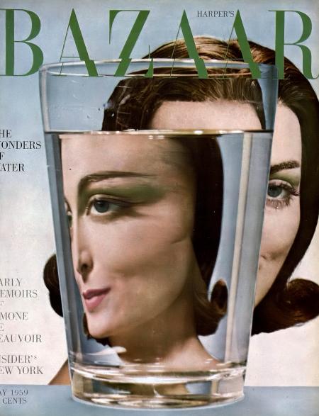 Carmen Dell' Orefice Harper's Bazaar, May 1959 © Gleb Derujinsky