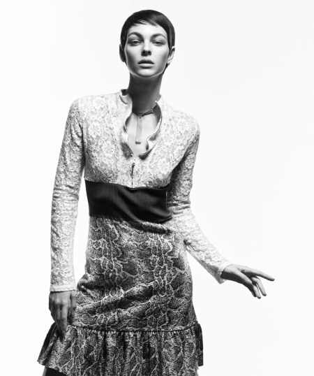 Ceretti in a Chloé Vogue, March 2018 © Mikael Jansson