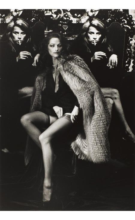 Charlotte Rampling Paris 1982 © Helmut Newton