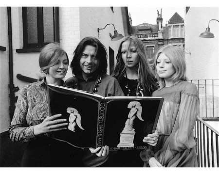 "Christine Keeler attends a party in Chelsea 119 to launch ""Swingin_ Sixties"". David Bailey - Penelope Tree - Marianne Faithfull"