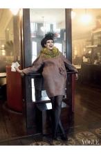 """Coco Rocha """"Paris, je t_aime"""" Vogue US September 2007 © Steven Meisel"""