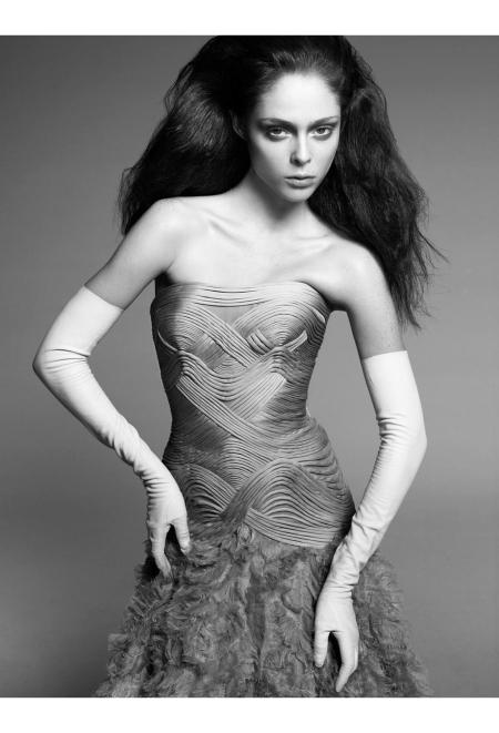 Coco Rocha Vogue it 2007 © Steven Meisel