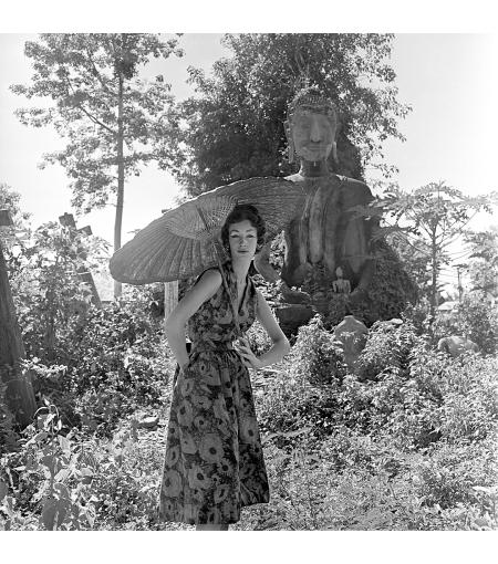 Garden Of Buddhas by Gleb Derujinsky, 1957