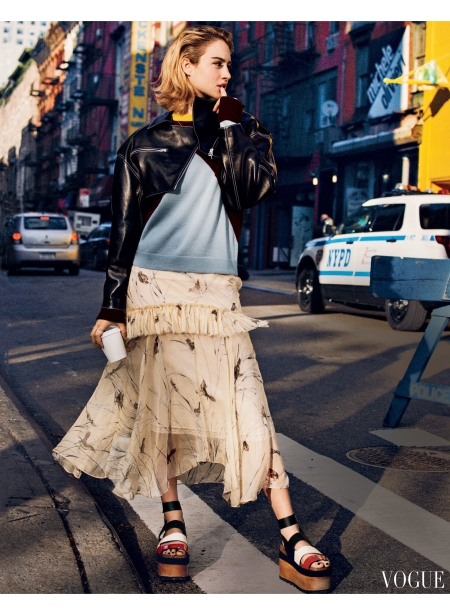 Grace Van Patten - Tramps movie - Vogue, January 2017 © Matteo Montanari