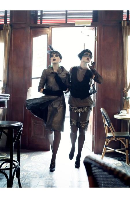 Guinevere Van Seenus & Coco Rocha