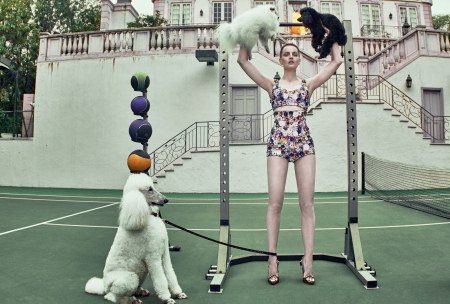 Guinevere Van Seenus Vogue, January 2018 © Steven Klein