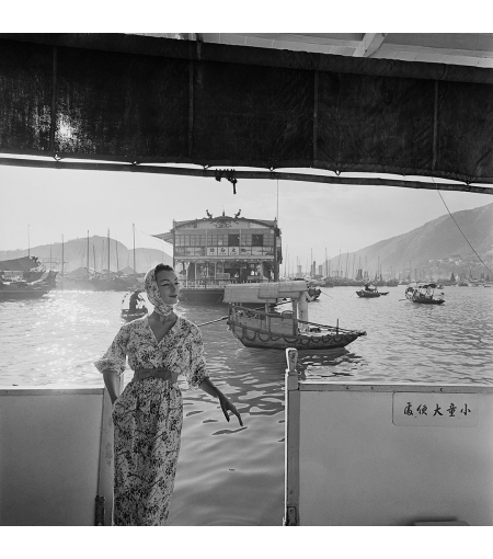 Hong Kong Harbor by Gleb Derujinsky, 1957