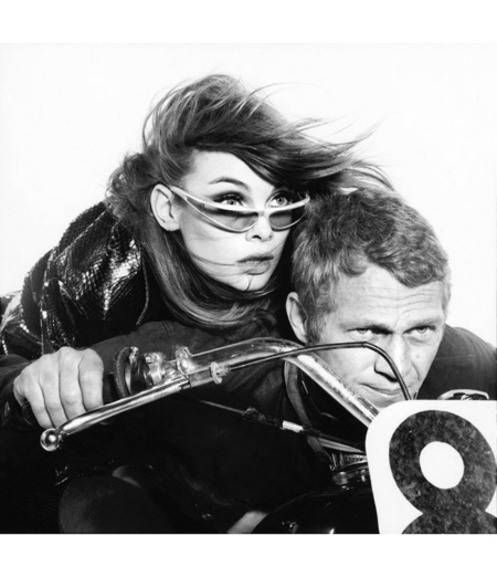 Jean Shrimpton and Steve McQueen, actor, Hollywood, November 7, 1964 © Richard Avedon