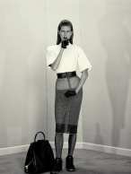 Karlie Kloss A Head For Business And A Bod For Sin Acne Paper #14 Fall 2012 © Roe Ethridge0