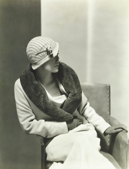 Lee Miller Wearing A Light Coat By Vionnet Vogue Sept 1931 © George Hoyningen-Huene