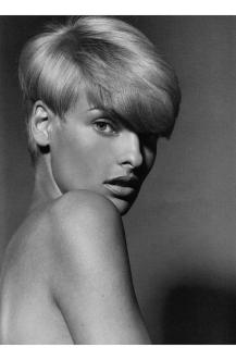 Linda Evangelista Platino for Vogue Italy, January 1991 © Steven Meisel copia