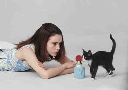 MIU_MIU_BTS_2015 Steven Meisel, is actress Stacy Martin