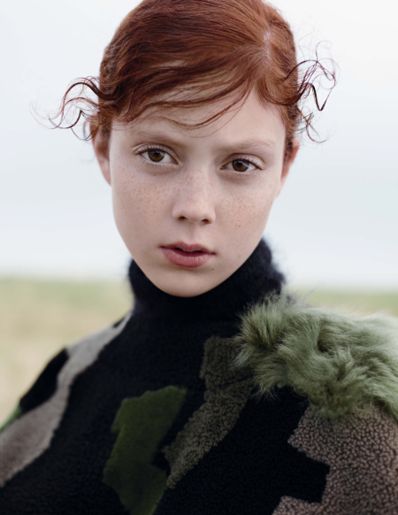 "Natalie Westling in ""The Craft"" by Karim Sadli for Vogue UK, October 2014"