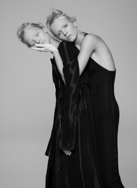 Sasha Luss and Daria Strokous V #94 Spring 2015 © Pierre Debusschere5