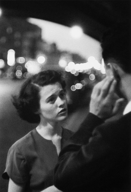 Sordomuti, deaf and dumb New York, 1950. © Louis Faurer