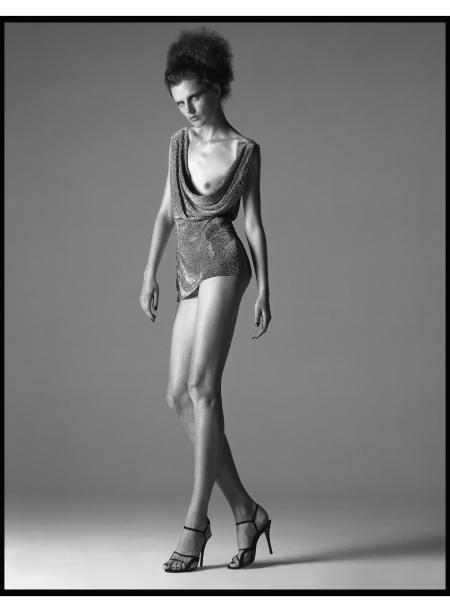 Stella Tennant Versace Atelier Fall-Winter - 1997-98 © Richard Avedon