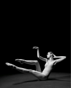 """Supermodel Coco Rocha and Photographer Steven Sebring paired up to create""""Study of Pose"""", an in-depth exploration of the movement and flexibility of the human body. PHOTO CREDIT: Steven Sebring"""
