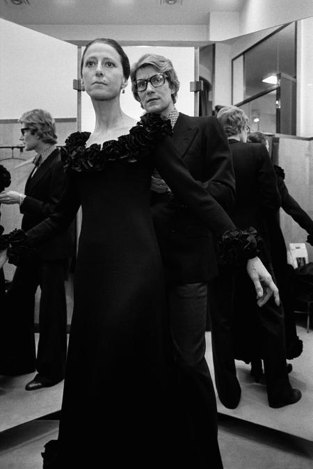 Yves Saint Laurent e Maya Plisetskaya. Corbis:Vostock-Photo