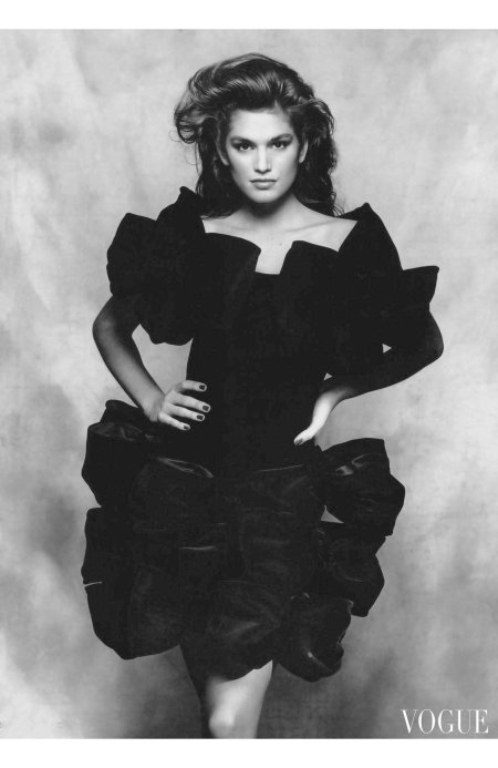 Cindy Crawford © Terence Donovan | For Vogue Magazine UK | August 1988