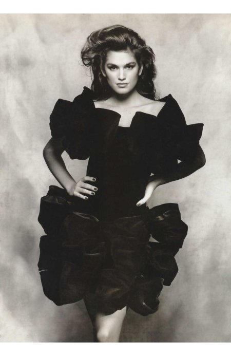 Cindy Crawford | Photography by Terence Donovan | For Vogue Magazine UK | August 1988