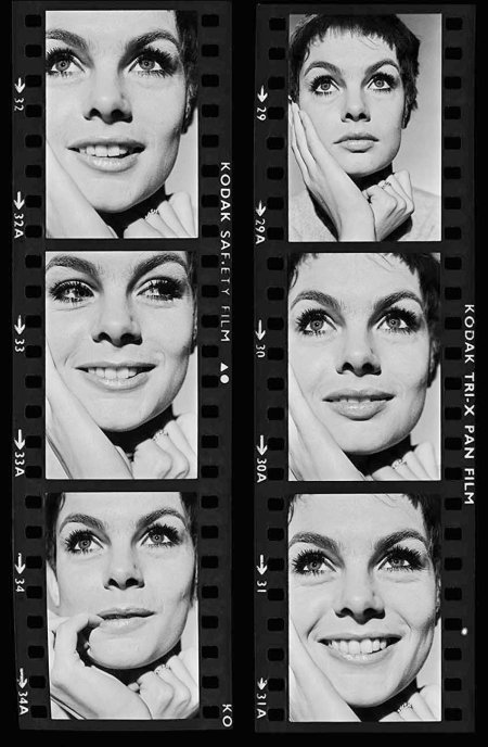 Jean Shrimpton, a model and fashion icon, in January 1967 © Terence Donovan