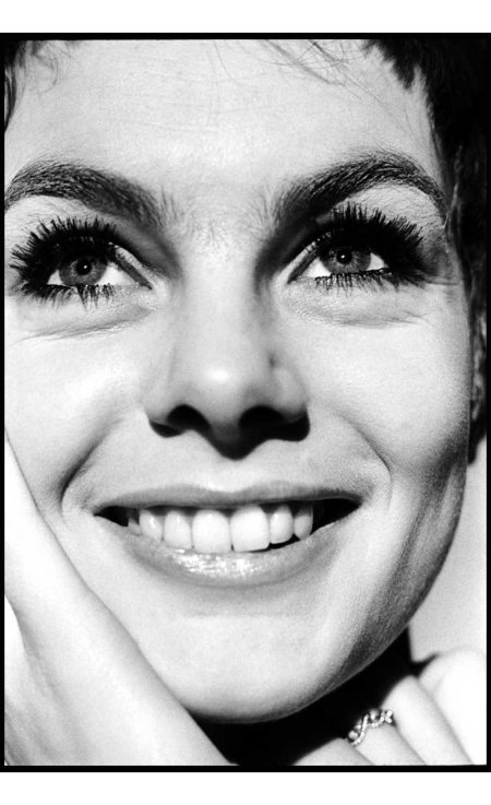 Jean Shrimpton, a model and fashion icon, in January 1967