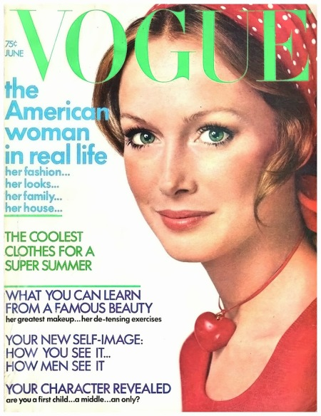 Karen Graham Vogue June 1972 Richard Avedon