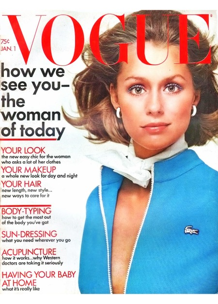 Lauren Hutton Vogue January 1 1972 Richard Avedon