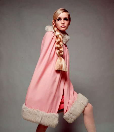 Twiggy England. December 1966 © (Photo by Popperfoto:Getty Images)