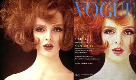 VOGUE September 1962 Grace Coddington © Peter Rand-1