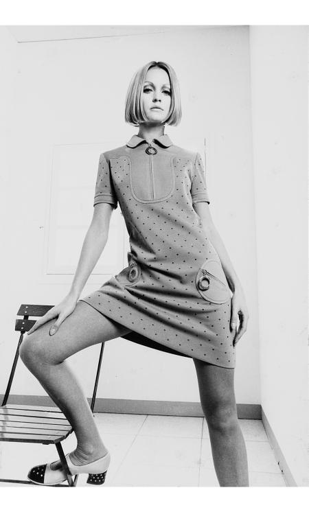 TWIGGY, VOGUE, ANNI 1960 Bert Stern