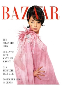 Hiroko Matsumoto appeared on the November 1961 cover of Harper_s Bazaar b