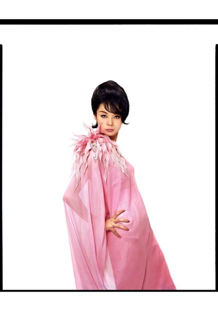Hiroko Matsumoto appeared on the November 1961 cover of Harper_s Bazaar