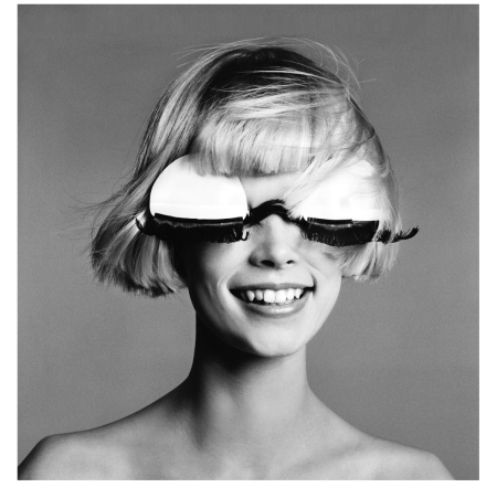 Mouche, sunglasses by Courrèges, Paris, January 1970 © Richard Avedon