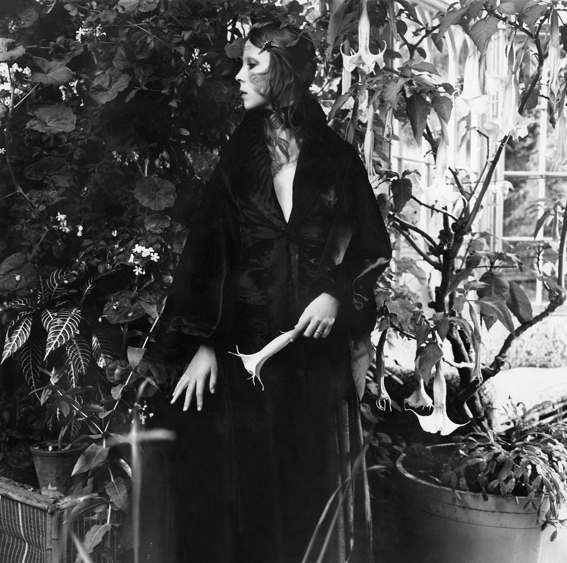 Penelope Tree in the Winter Garden Conservatory of Cecil Beaton's Wiltshire home, December 1970 © Cecil Beaton